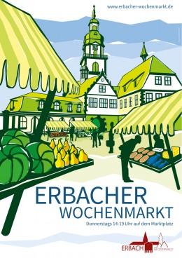 Plakatmotiv_Erbacher_Wochenmarkt